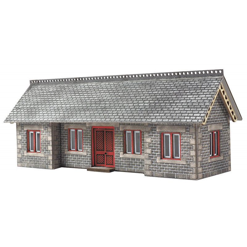 N gauge Building Card Kit Metcalfe PN936 Settle//Carlisle Goods Shed