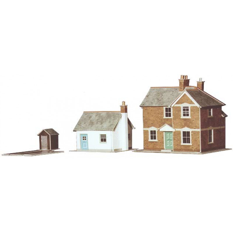 STATION MASTER'S HOUSE and GATEKEEPER's COTTAGE OO